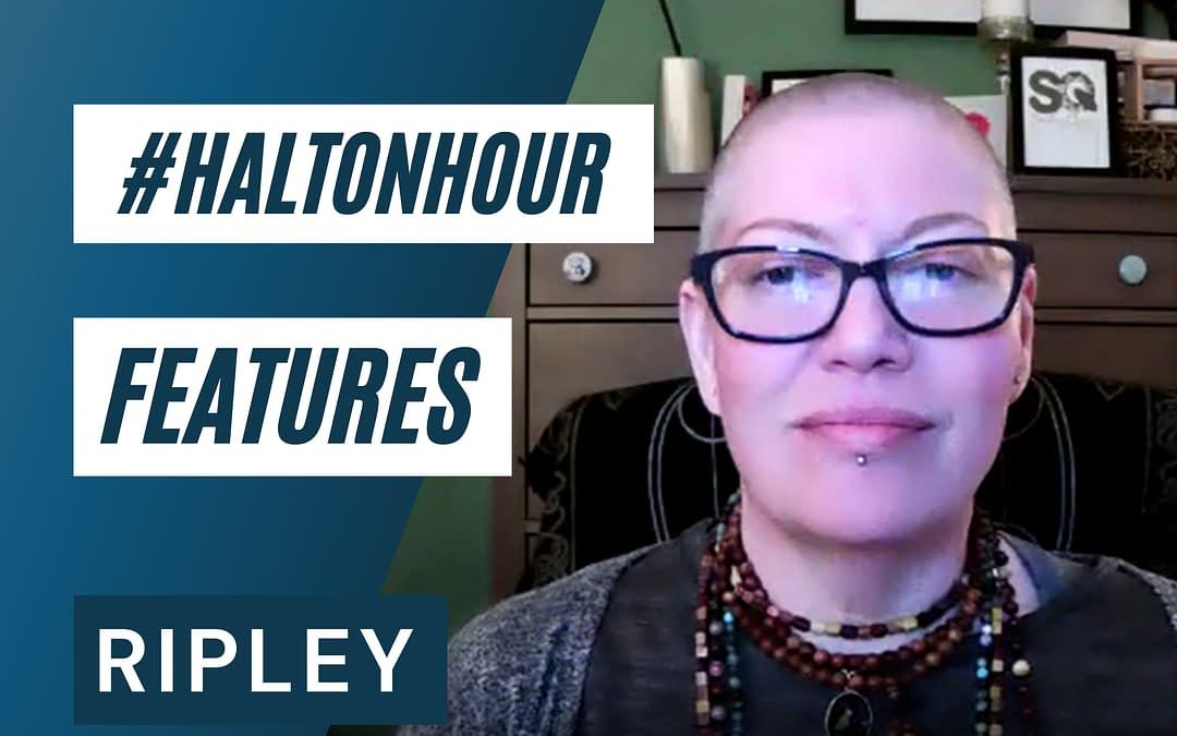 HaltonHour Features Ripley from Smokey Quartz Readings