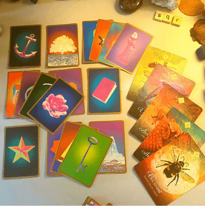 smokey quartz readings card spread c