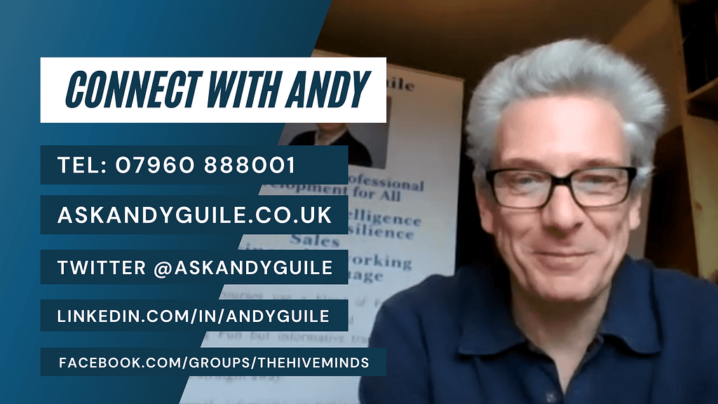 HaltonHour Connect Andy Guile blog