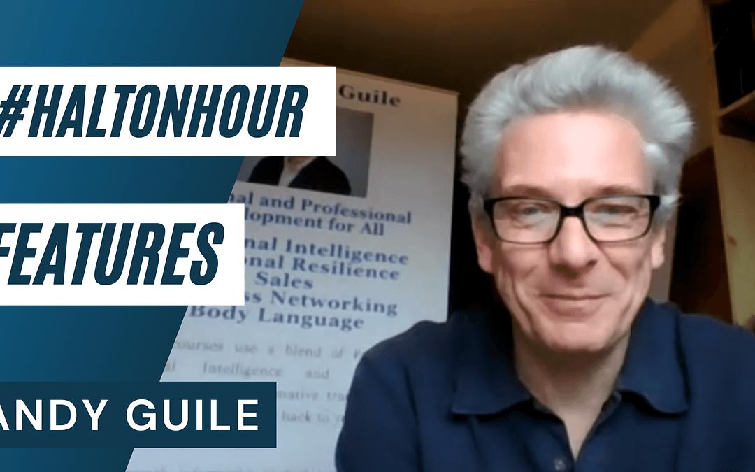 #HaltonHour Features Andy Guile