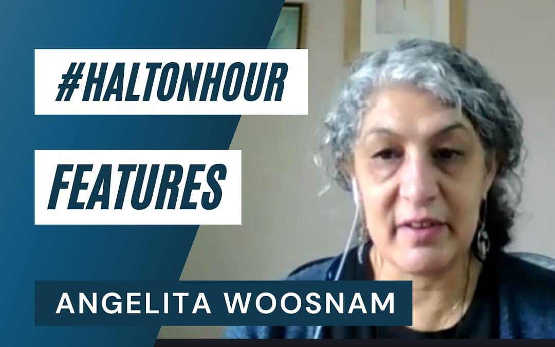 #HaltonHour Features: WellBeing Lady Angelita Woosnam (Video Interview)